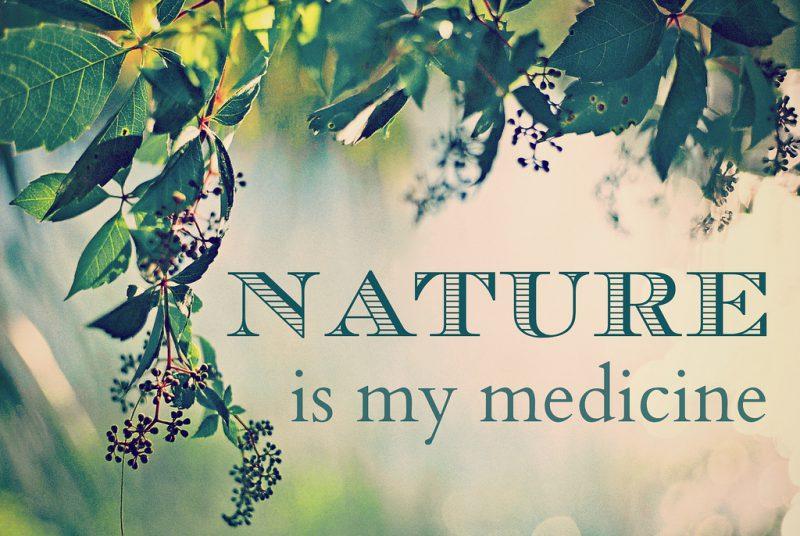 Nature is my medicine meme