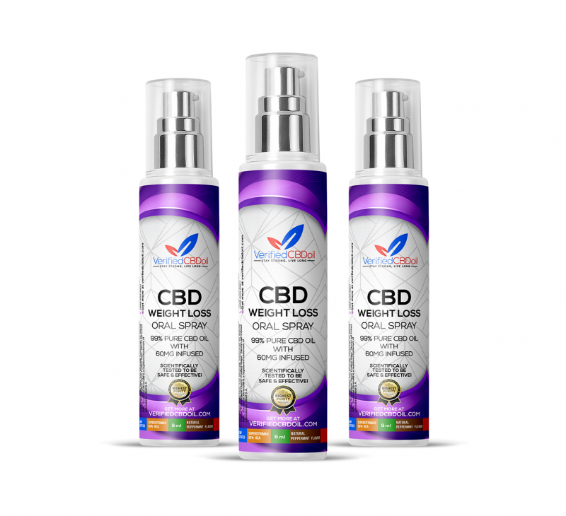 3 bottles of weight loss oral spray