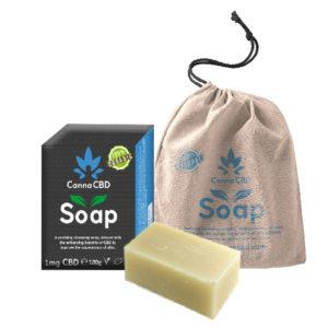 Bar of CannaCBD soap