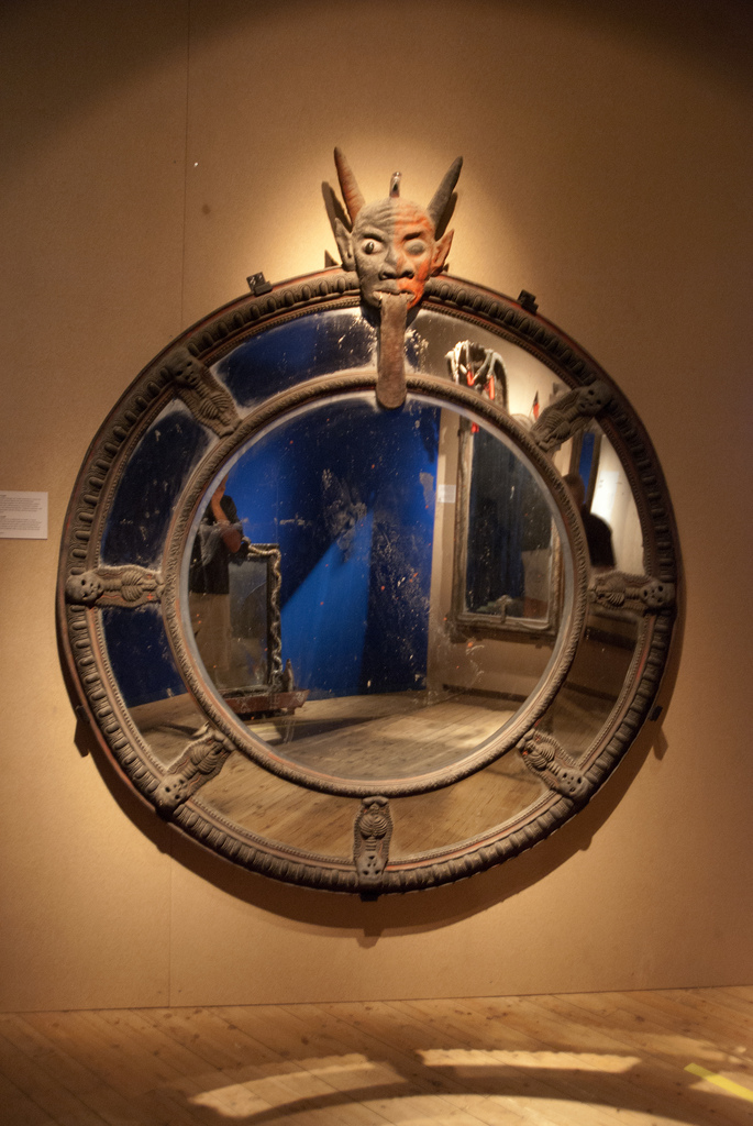 photo of voodoo mirror gateway to hell